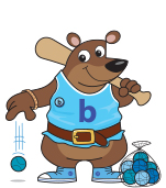 Bubbles the bear